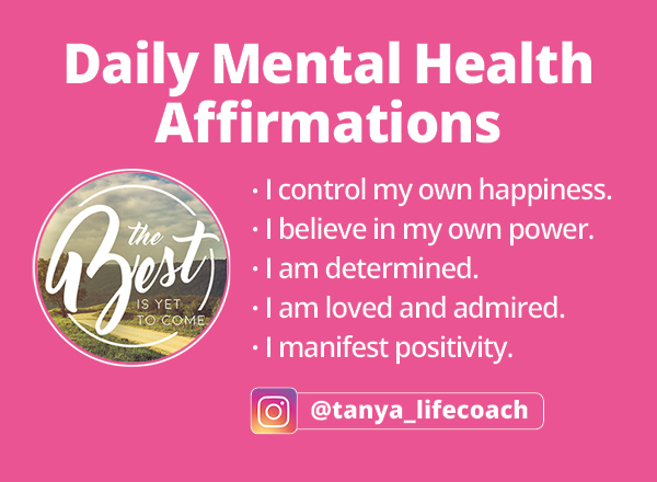 Life coach Wellness Coach and Relationship Coaching Calgary Alberta_Daily Affirmations